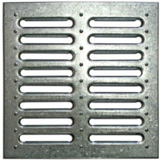 Решетка водоприемная стальная штампованная для дождеприемника