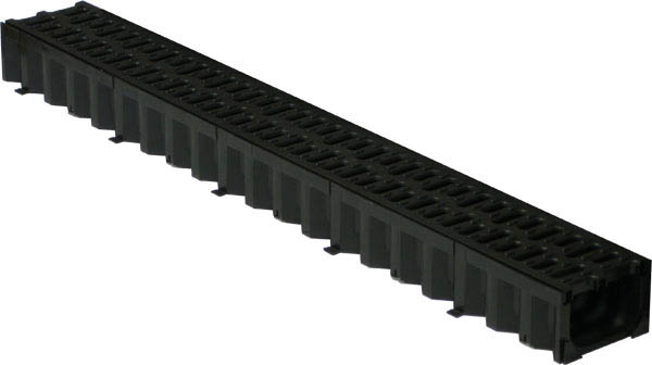 Лоток пластиковый Top 100/80 с пластиковой решеткой