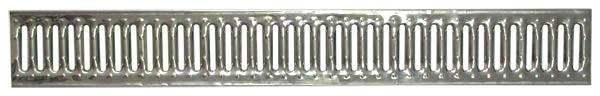Решетка водоприемная Standart 100 штампованная нержавейка