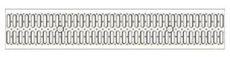 Решетка водоприемная Standart 150 стальная штампованная (оцинкованная)
