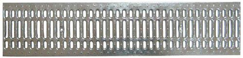 Решетка водоприемная Standart 200 стальная штампованная оцинкованная