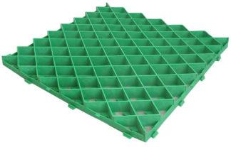 Газонная решетка 60*60 ромб (зеленая)