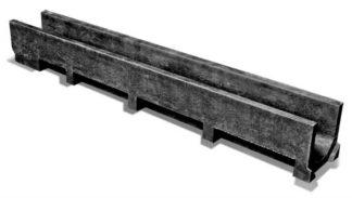 Лоток полимерпесчаный мелкосидящий Standart 100 (высота 90 - 130 мм)