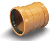 Муфта для труб наружной канализации