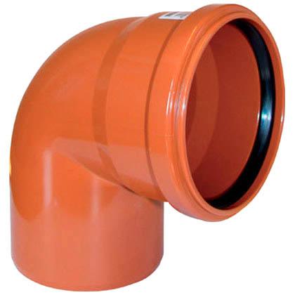 Отвод для трубы наружной канализации